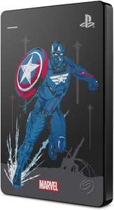 Dysk HDD 2TB Seagate Game Drive PS4 Marvel Captain America STGD2000203 oraz Marvel Thor STGD2000205