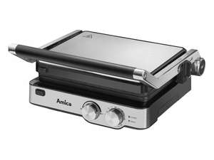 Grill AMICA GK4011, 2000W, tradycyjny, kontaktowy
