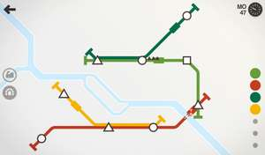 Mini Metro w Google Play 60% taniej