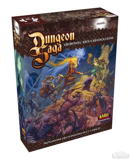 Dungeon Saga - gra planszowa
