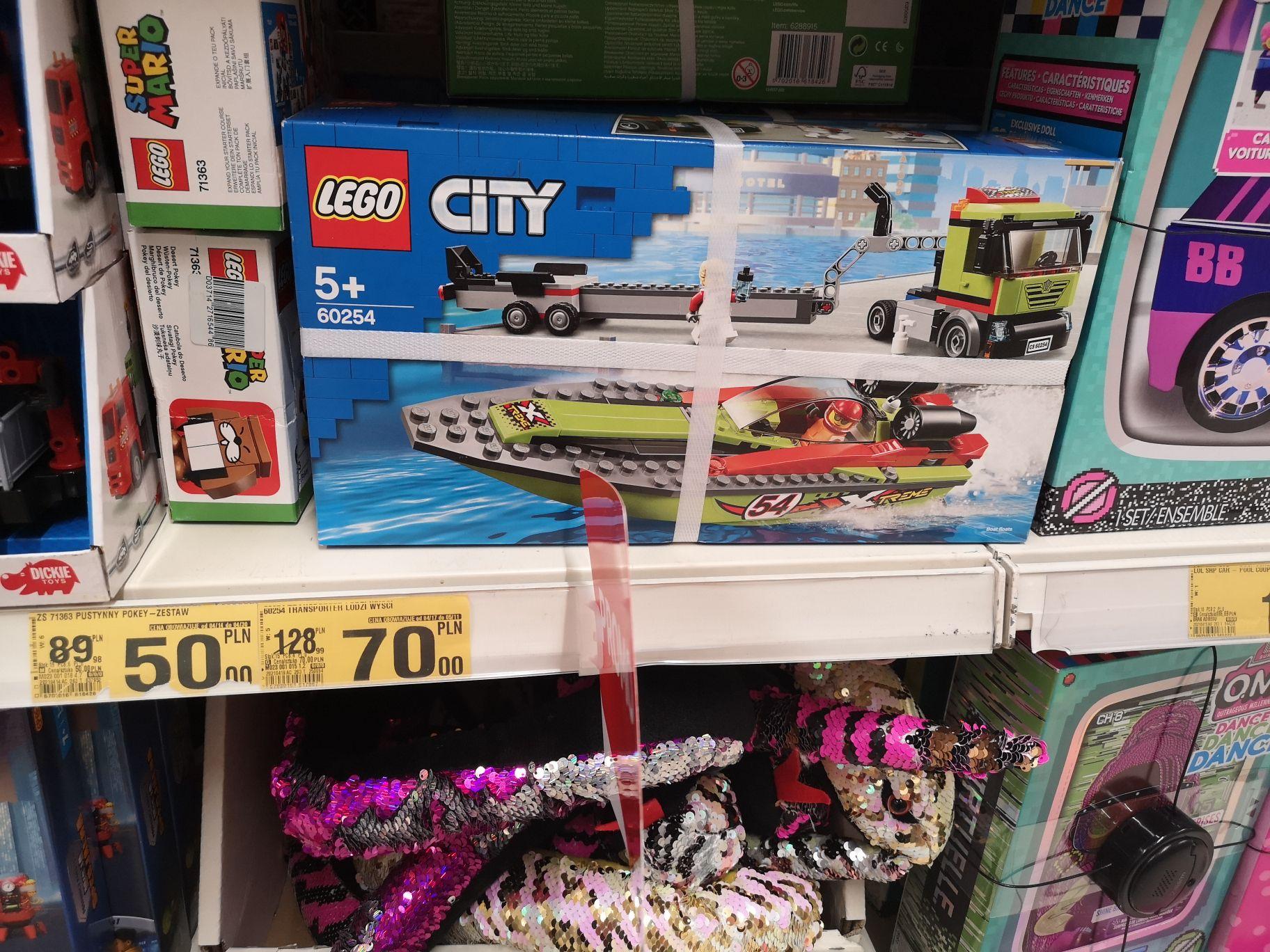 Lego 60254 transporter Łodzi w Auchan Sosnowiec