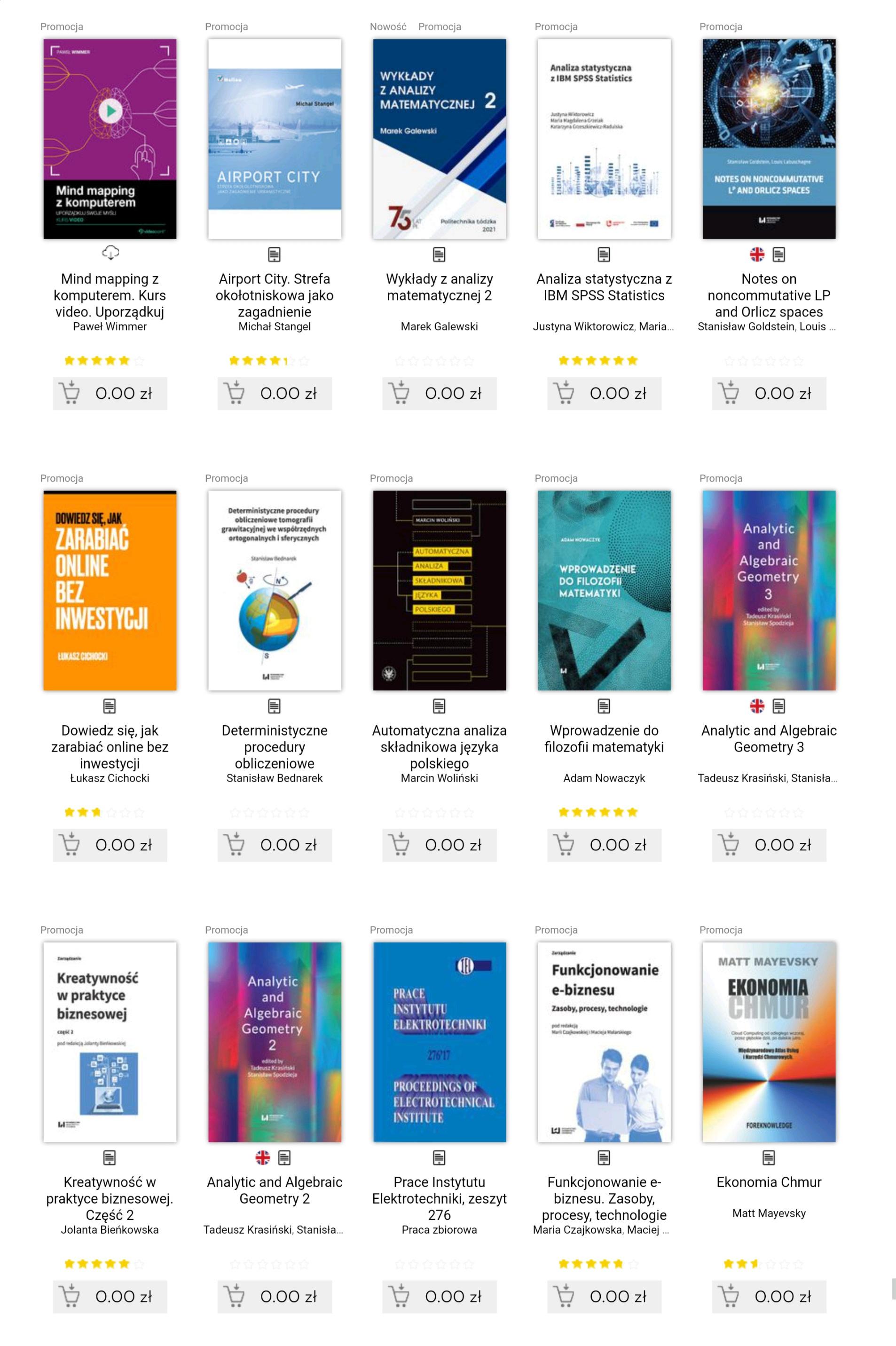 Darmowe e-booki w księgarni Helion dla zalogowanych użytkowników