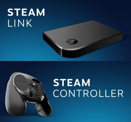 STEAM Controller + Link  (Zestaw lub osobno) @ Game