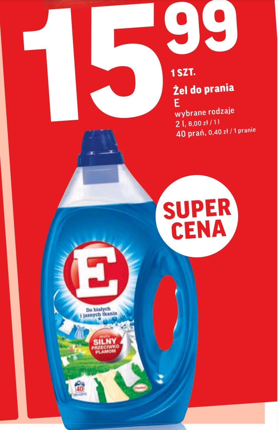 Żel do prania E 2l. - Intermarche