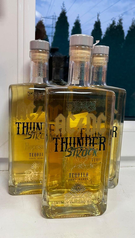 Tequila AC/DC ThunderStruck 100% agava (gold)