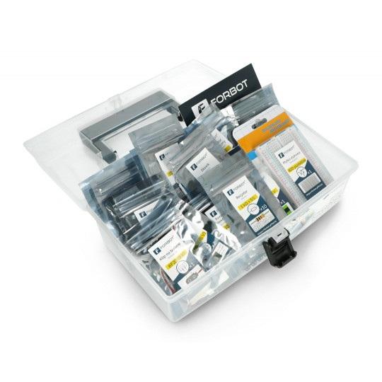 FORBOT - zestaw do kursu podstaw elektroniki (kuferek, gadżety) -40%