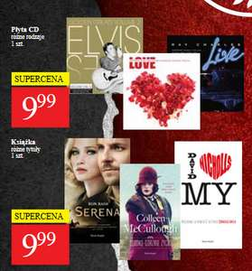 Książki i muzyka na CD po 9,99zł @ POLO Market