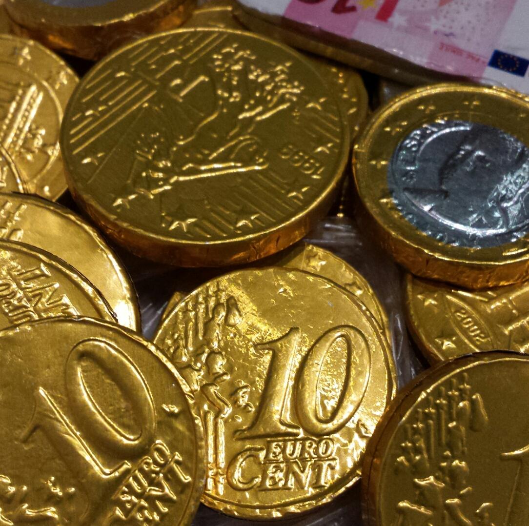 Lidl - Czekoladowe monety 100g