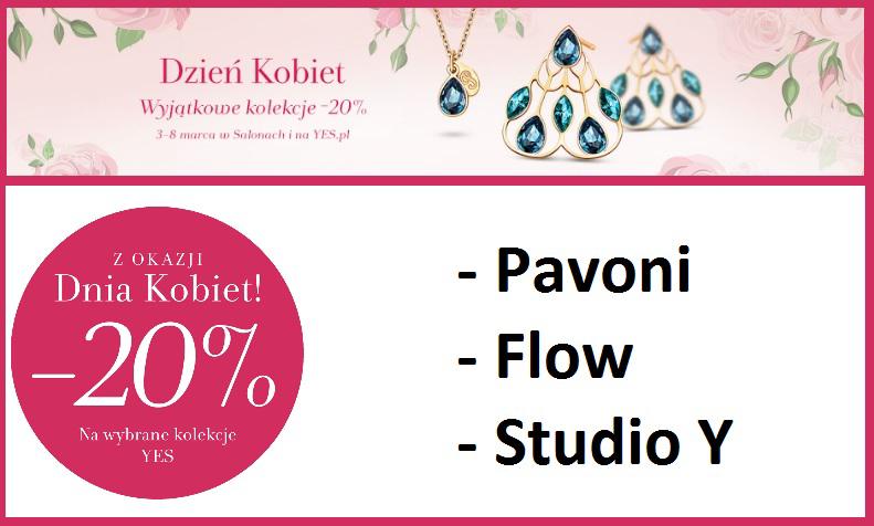 [Dzień Kobiet] -20% na wybrane kolekcje YES Biżuteria