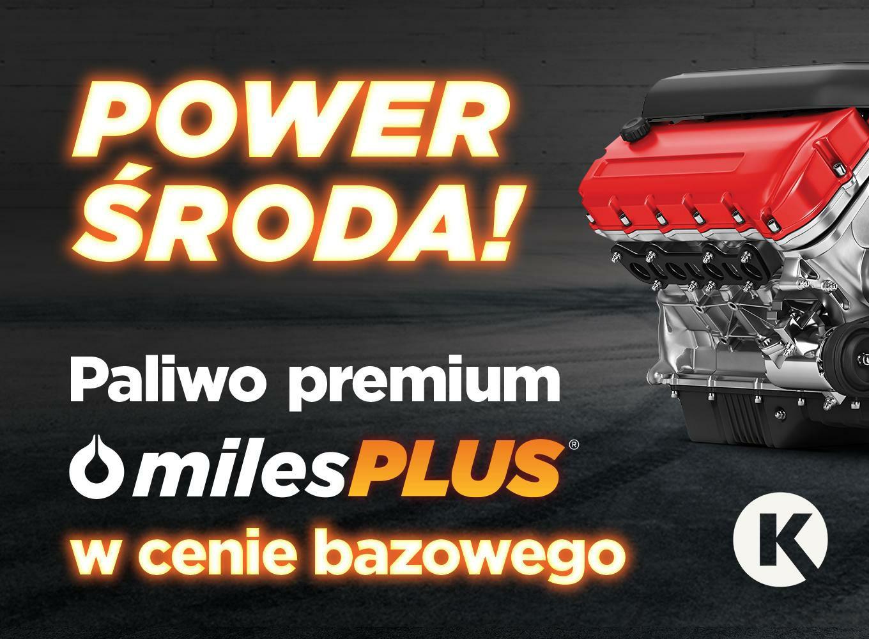 Power Środy w Circle K Paliwa premium w cenie paliwa bazowego!