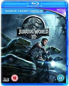 Jurassic World (3D + 2D) na Blu-ray za ok. 19zł @ ZOOM