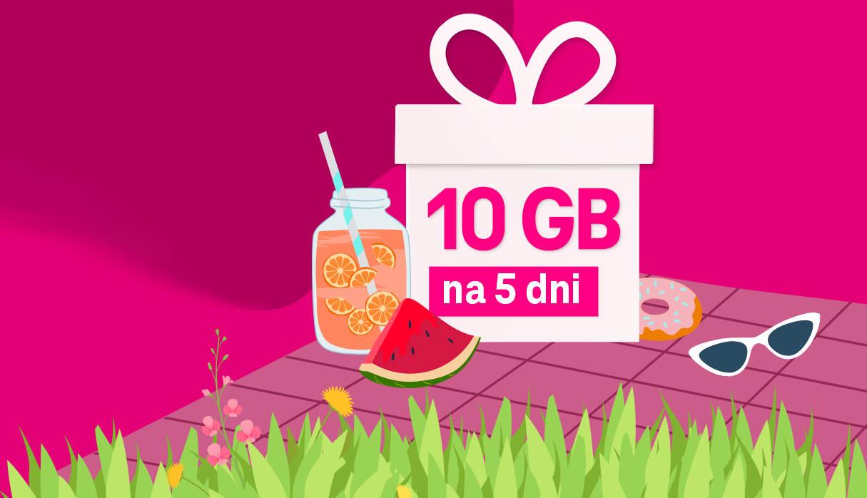 T-Mobile 10GB na majówkę w MIXie i na Kartę Happy Friday