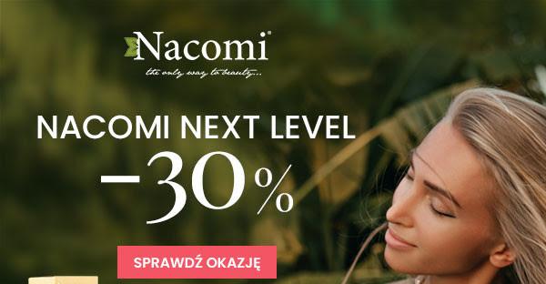 30% rabatu na linie Nacomi