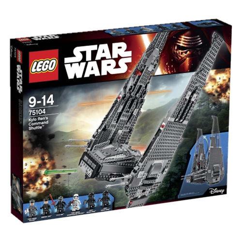 """LEGO Star Wars 75104 Wahadłowiec Kylo Rena  - Rabat 30%  Toys """"R"""" Us Polska"""
