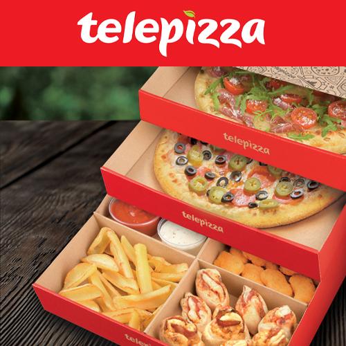 10 zł zniżki z Telepizza na Pyszne.pl (MWZ 35zł, za 45pkt)