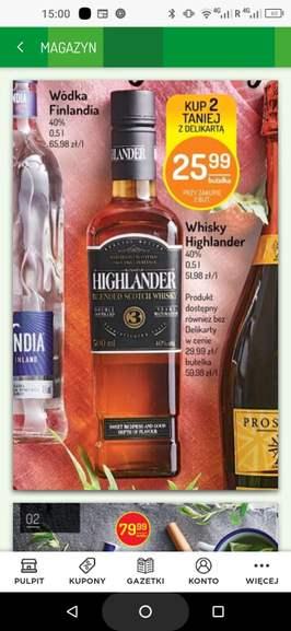 Whisky Highlander - Delikatesy Centrum
