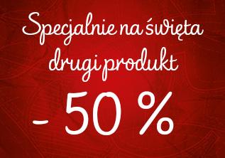 50% rabatu na drugi produkt @ Triumph