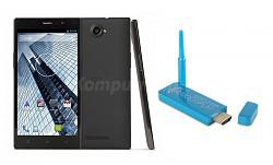 smartfon GOCLEVER QUANTUM 600 BLACK + Aerodisplay za 599zł! @ Komputronik