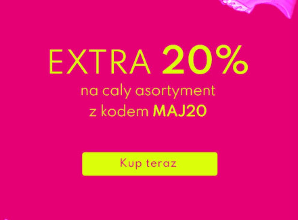 -20% na wybrane (również przecenione) produkty Wojas