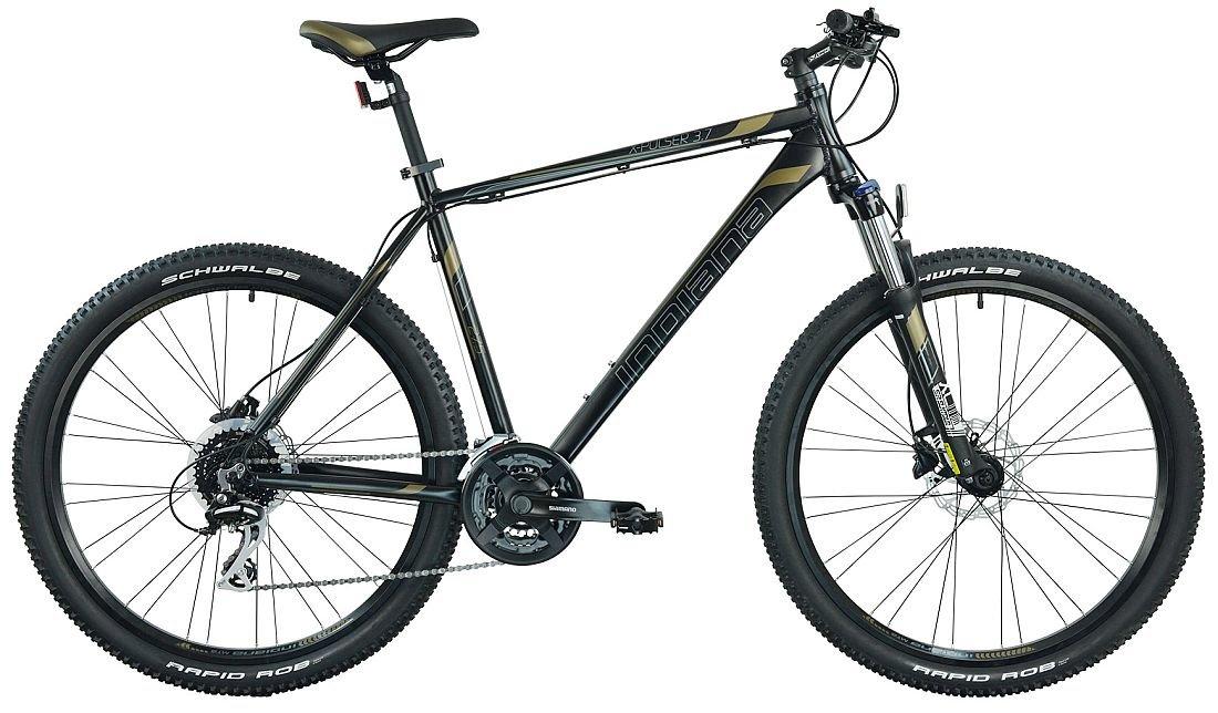 Rower górski MTB INDIANA X-Pulser 3.7 M21 27.5 cala męski Czarno-brązowy (mediaexpert)