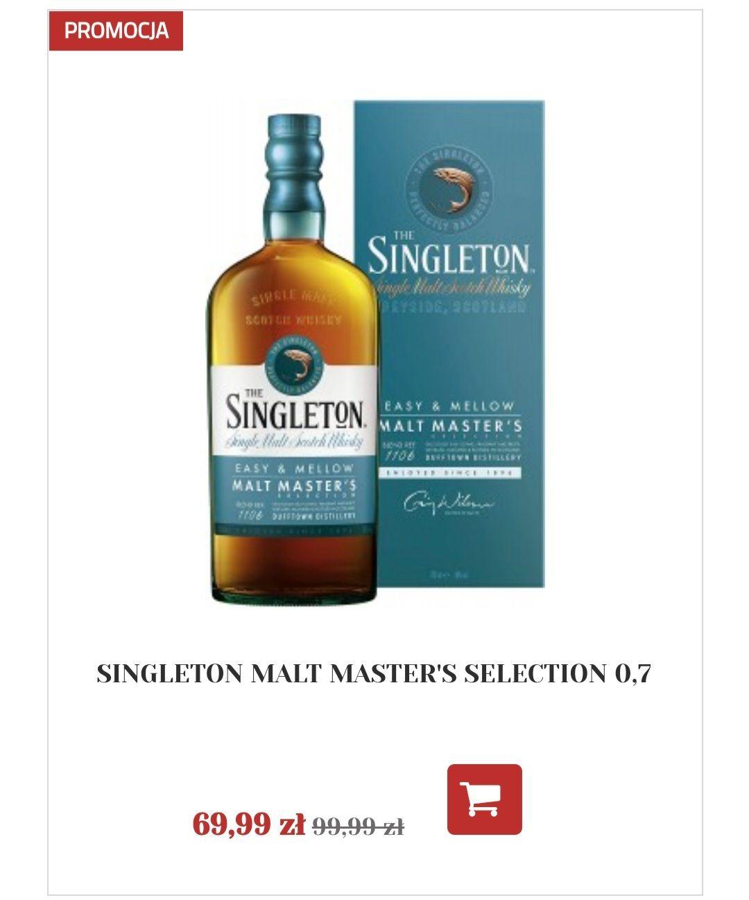 Whisky Singleton Malt Master Selection 0.7 i inne - Alkooutlet.pl