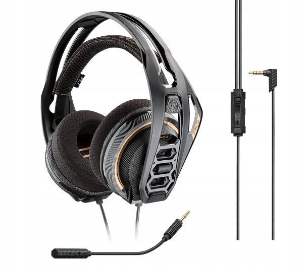Słuchawki z mikrofonem Plantronics RIG 400 Dolby (210257-05)