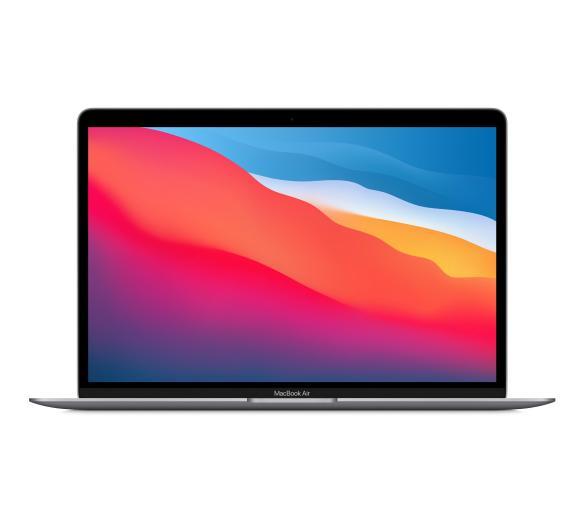 """Apple Macbook Air M1 13,3"""" Apple M1 - 16GB RAM - 256GB Dysk - macOS (gwiezdna szarość)"""