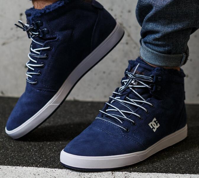 Męskie buty zamszowe DC CRISIS HIGH WNT