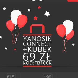 Yanosik connect + kubek