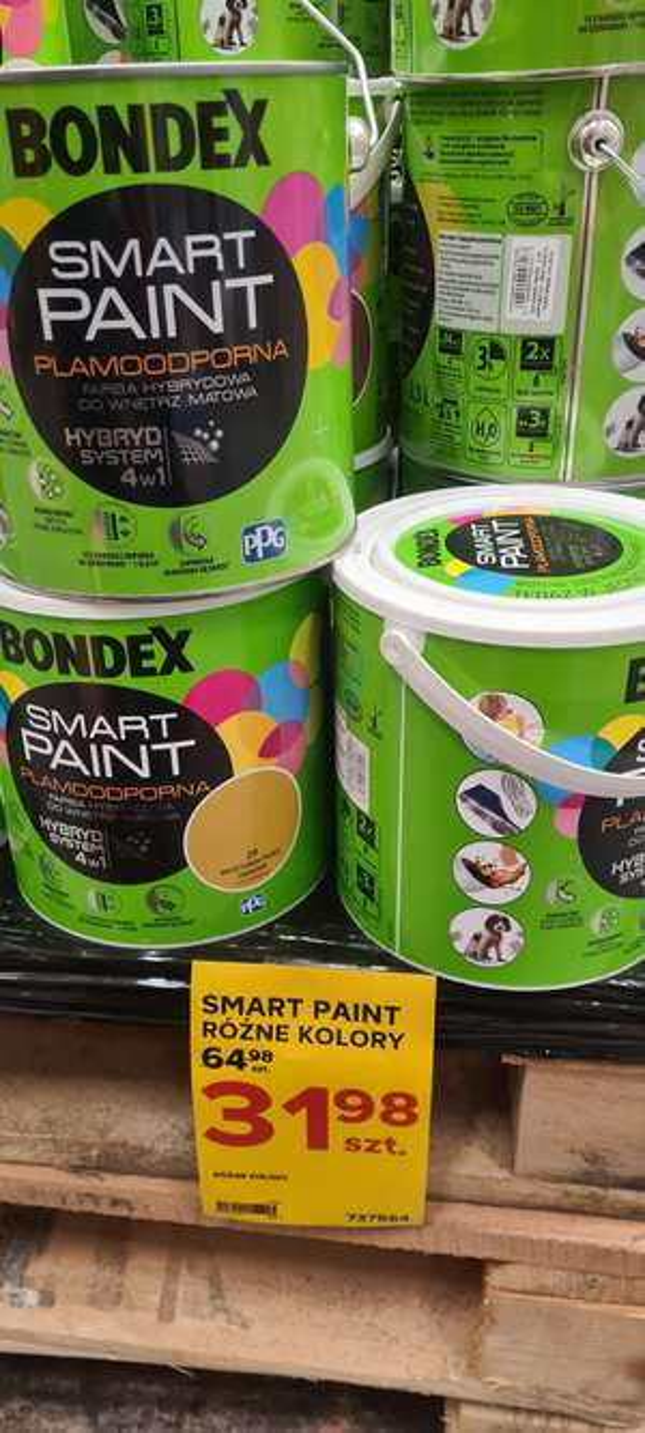 Bondex farba smart paint plamoodporna