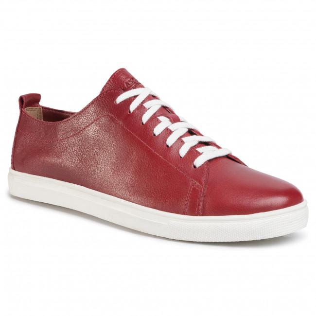 Sneakersy LASOCKI FOR MEN black/red skóra buty