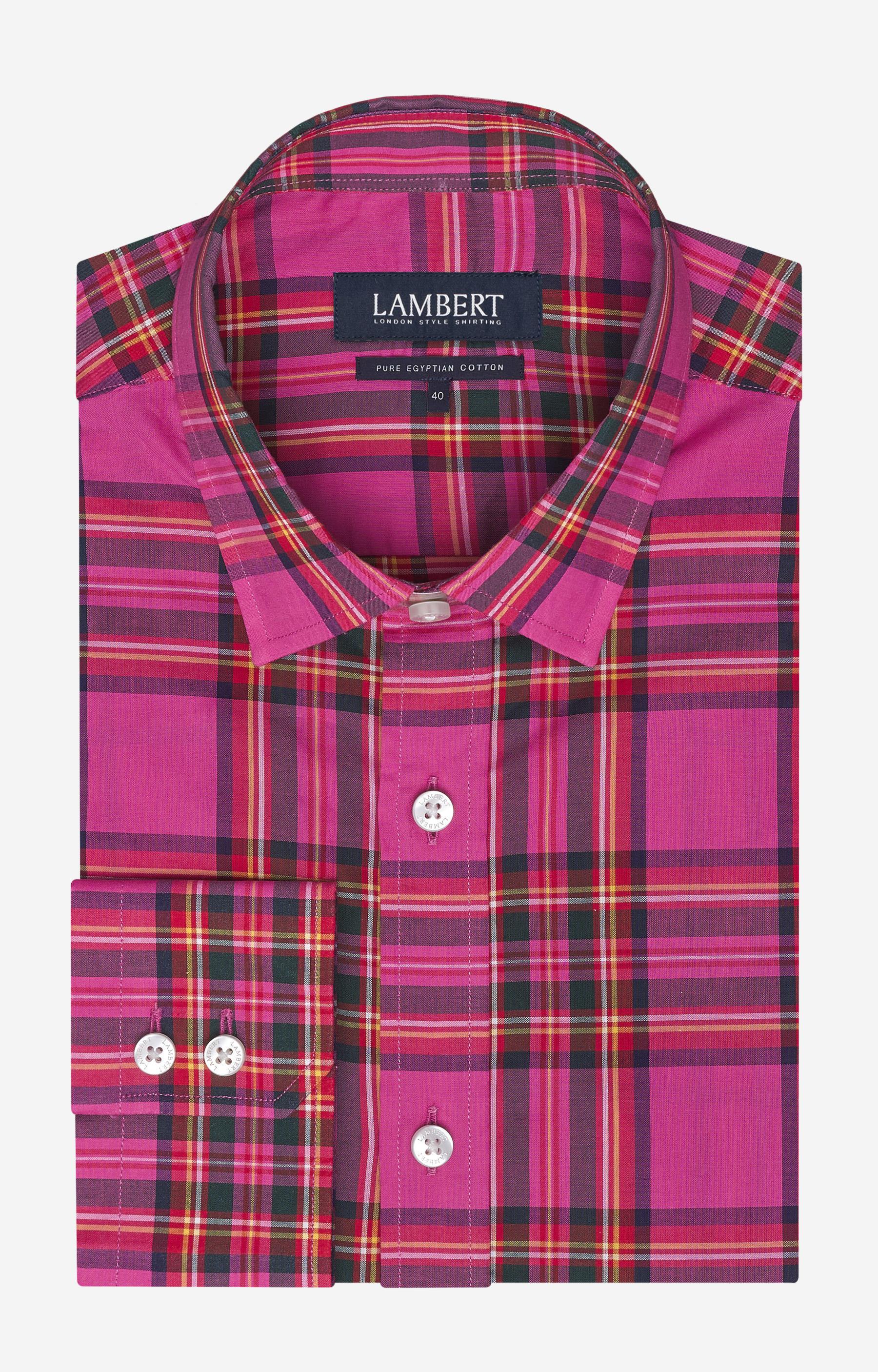 Koszule Lambert z bawełny egipskiej, długi rękaw od 59,99 PLN