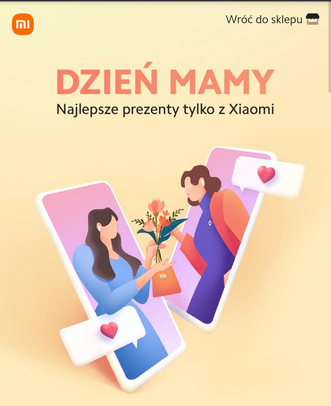 promocje na Dzień matki od Xiaomi na Mi-Home.pl