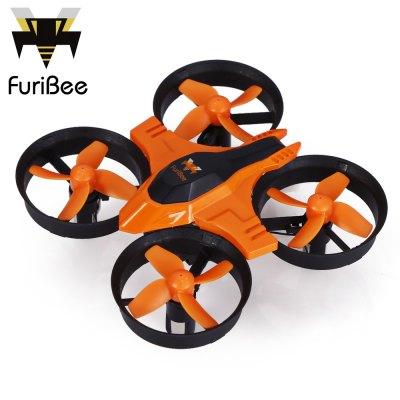 Quadcopter FuriBee F36 za ~53zł (cyan) i ~54zł (orange) @ Gearbest