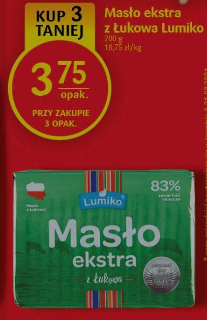 Masło ekstra z Łukowa 83% @DelikatesyCentrum