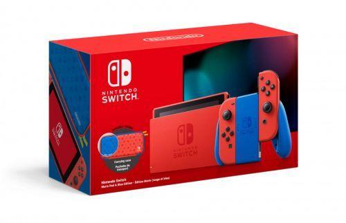 Konsola Nintendo Switch Red & Blue Mario Edition