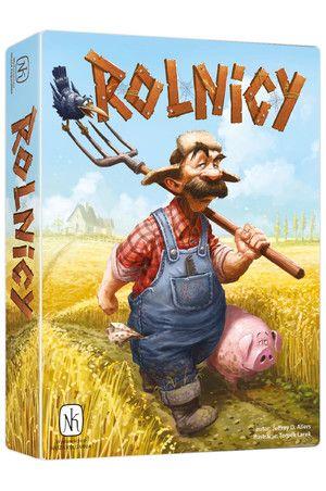 Merlin - gra planszowa Rolnicy (Nasza Księgarnia)