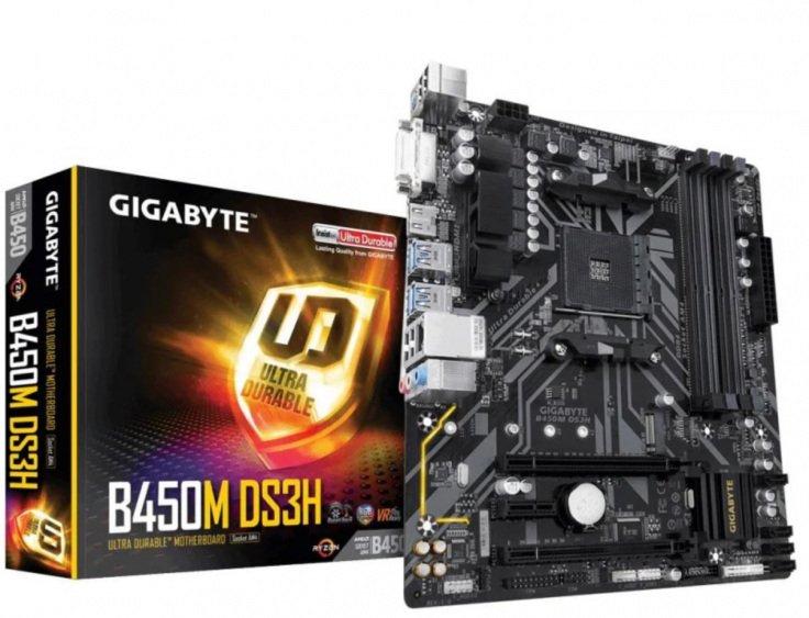 Płyta główna Gigabyte B450M DS3H V2 AM4