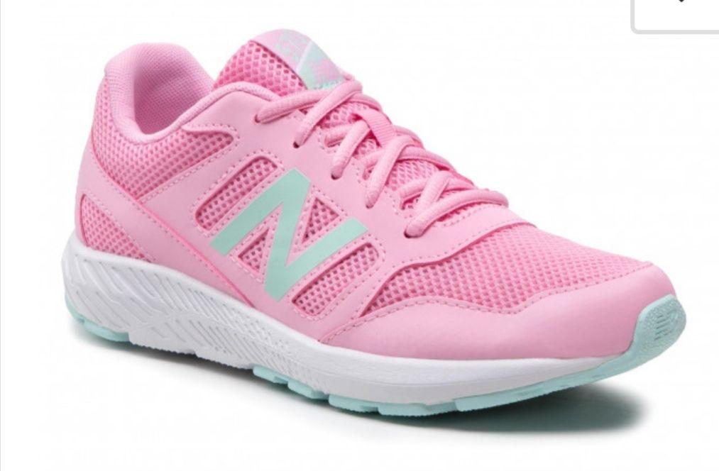 Sneakersy NEW BALANCE różowe