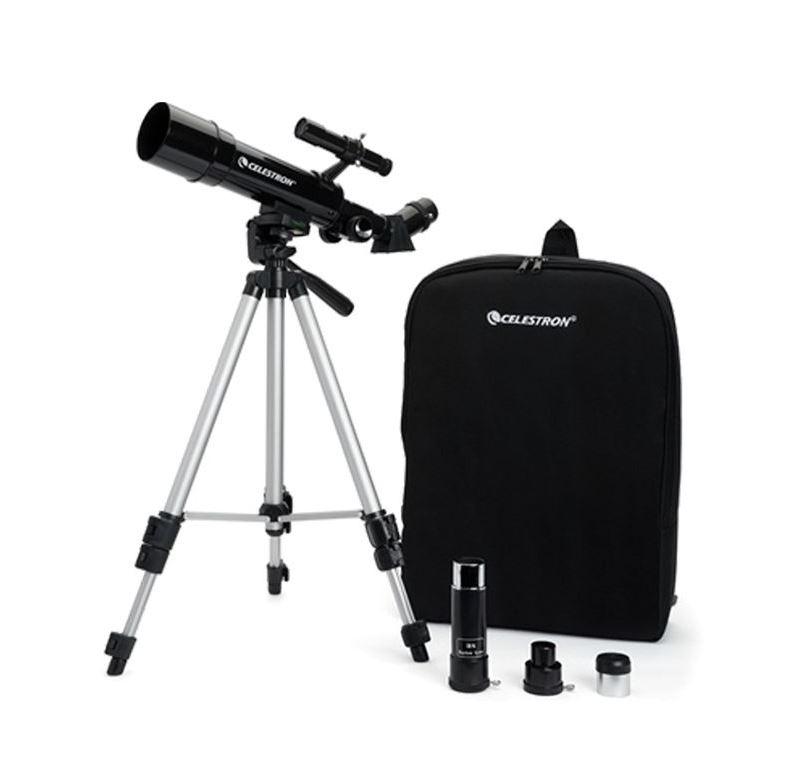 [Gorący Strzał] Teleskop Celestron Perceptor Travel 50 mm ze statywem i plecakiem @combat