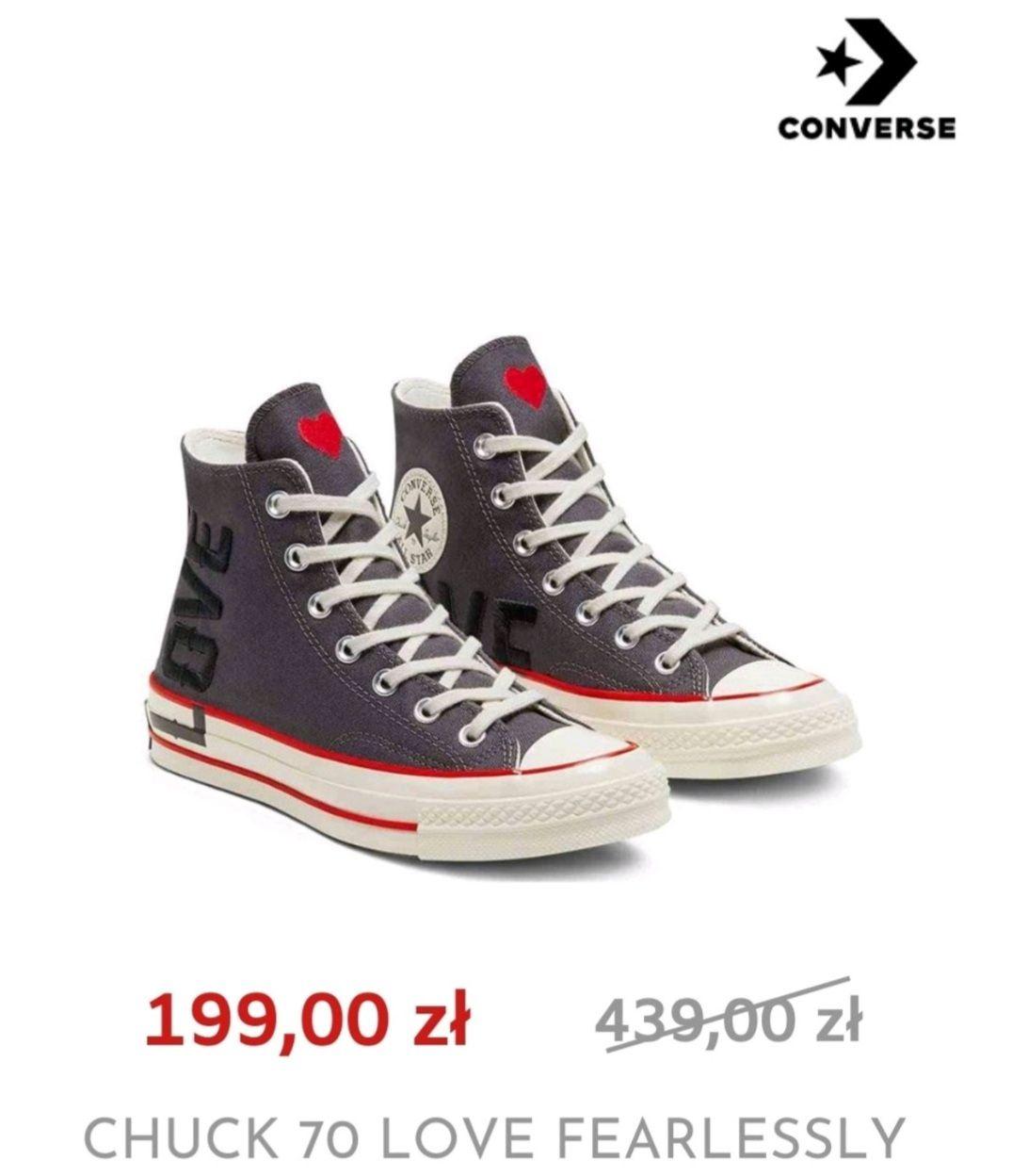 Trampki Converse Chuck 70 x Love Fearlessly 567153C