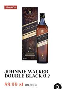 Whisky Johnnie Walker Double Black 0.7 - alkooutlet.pl