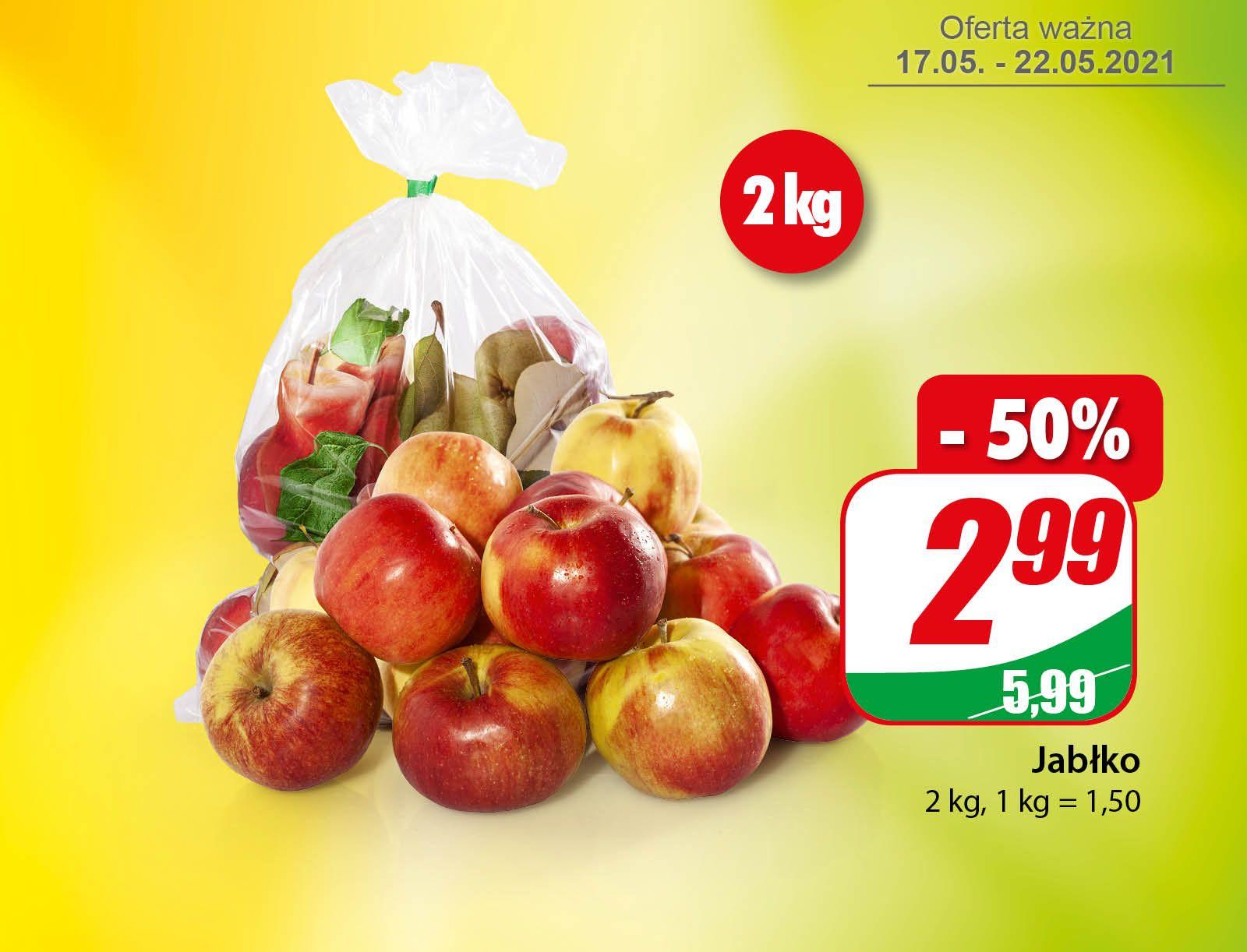 Jabłko 2kg (1,50zł/1kg) - DINO