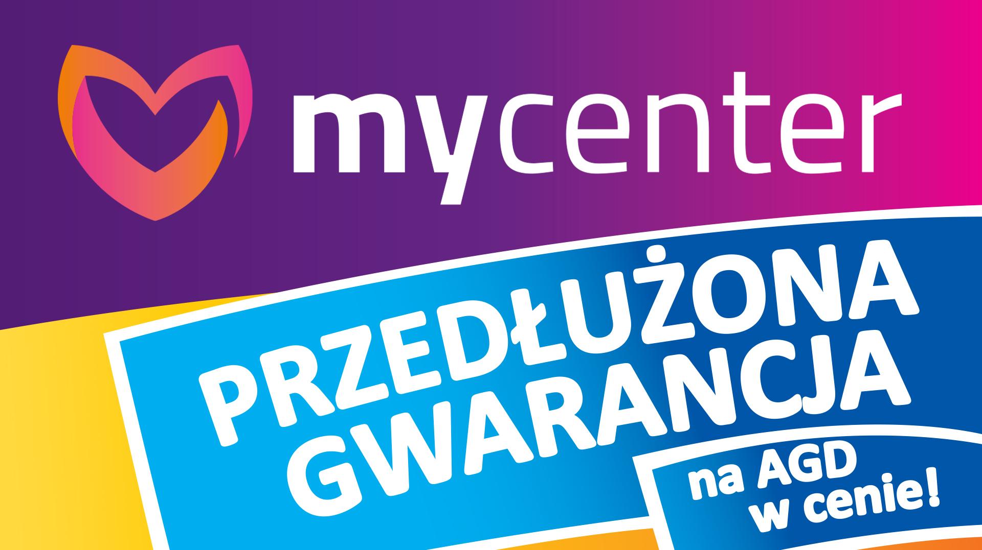 Na wiele produktów 5 lat gwarancji w cenie @MyCenter