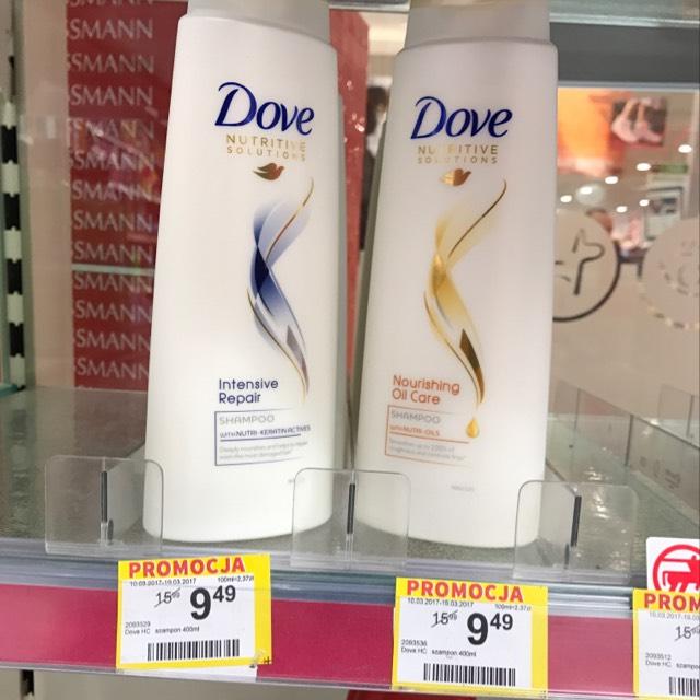Dove - szampony 400ml