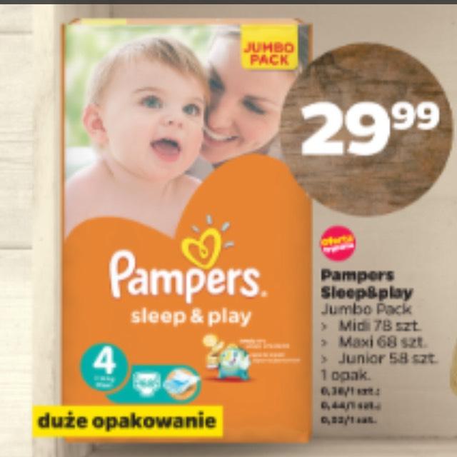 Pieluszki Pampers sleep&play