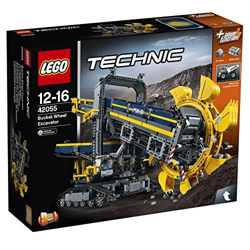 Największy zestaw Lego Technic - Koparka 42055 (3900 elementów) za 710zł @ Amazon.co.uk