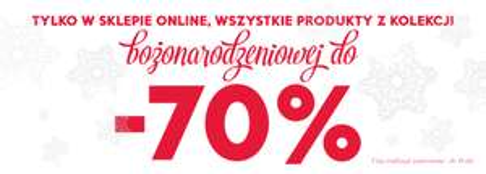 Do 70% rabatu na produkty świąteczne @ Home&You