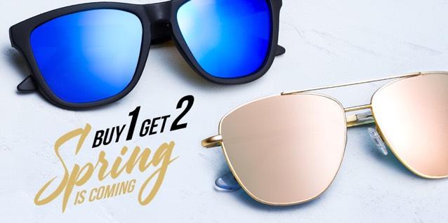 okulary hawkers - 2 w cenie 1