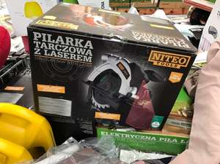 Pilarka tarczowa 1200W z laserem NITEO Tools @Biedronka